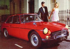 BMC publicity photo MGB GT 1965