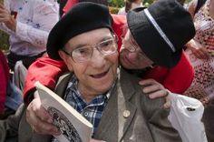 El pasado 17 de septiembre murió a los 104 años Lou Kenton, veterano de las brigadas internacionales. War, Wrestling, Past Tense