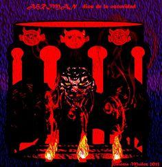 """Ahriman fue llamado """"El señor de la destrucción"""" y era tan antiguo como el dios-serpiente Set."""
