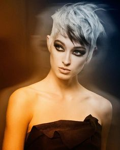 Hair: Michael M Haase @mmhaase  Model: Porscia Eve Photo: Nick Berardi #hairvideoeducation #hairstyling #haircolor #stylingeducation #modersalon #haircutting #wellalife #wellaeducation #esteticausa #hairdressersjournal #nickeducation