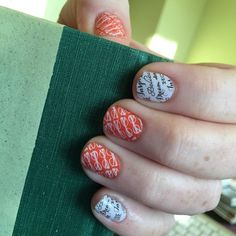 How about this combo of #WordToTheWiseJN and #BookwormJN?! I am in love!!  #SarahsJamberry #JamberryNails #Jamicure