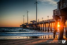 Jennette's Pier :: Nags Head, NC :: Outer Banks