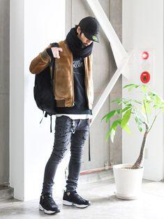 LOUNGE LIZARDのMA-1「RIPSTOP×FAKE FUR REVERSIBLE ブルゾン」を使ったSessionLoungeLizard(LOUNGE LIZARD)のコーディネートです。WEARはモデル・俳優・ショップスタッフなどの着こなしをチェックできるファッションコーディネートサイトです。