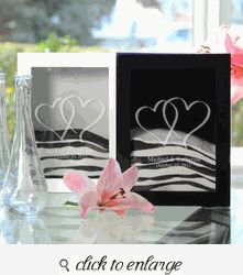 Double Heart Wedding Sand Ceremony Shadow Box Set with Engraving - Black or White Wedding Sand, Wedding Ceremony, Wedding White, Wedding Table, Fall Wedding, Unity Sand, Unity Ceremony, Wedding Planning, Wedding Ideas