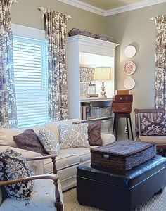 Decor Bookcases Walls Drapes  Furniture Fabric  From Thistlewood Farm