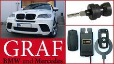 BMW X5 X6 Keyless Go Signal DWA Schlüssel programmieren turbodecoder Ala...