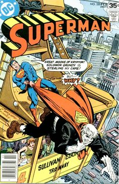 Superman 320, february 1978, cover by Jose Luis Garcia-Lopez and Bob Oksner.
