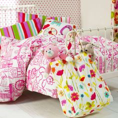Stunning Girls Ideal World Duvet Cover and Pillow by Funkysheets, £59.99