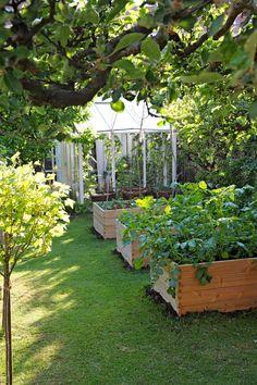 Även en liten trädgård kan bli fantastisk vacker med många spännande ytor