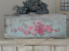 Rose Bouquets - 3 for 25 Cents