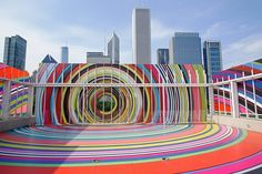 "Pae White's ""Restless Rainbow"" - Google Search"