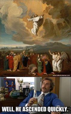 From CatholicMemes.com  www.catholicvolunteernetwork.org