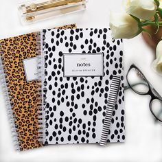 Personalized Notebook Dalmatian Spots by #LetterLoveDesigns