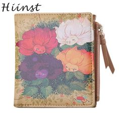 Cheap wallet women, Buy Quality wallet women vintage directly from China clip purse Suppliers:  Wallet Women Vintage Flowers Coin Clip Purse Short Clutch Comfystyle si26ga