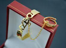 New Arrival 18K kullattu Vauva Bangles With Ring pojille Korut Free Shipping (China (Manner))