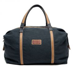 Aviator Blue Canvas Duffle by McManus. Suzanne Lee · bags. 60e033c432287