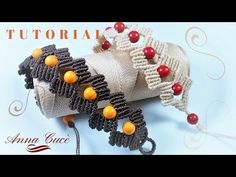 "Macrame bracelet tutorials ""Tiziana"" / Diy tutorial / Step by step - YouTube"