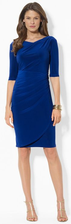 176ffb8d741c4 Ralph Lauren Pleated Dress Vestidos Al Cuerpo