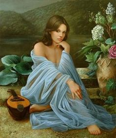The Poet of Painting ~ Catherine La Rose : Sylvain FORGET ✿