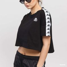 Dámské tričko Kappa Authentic Apua (303WGQ0 900) – Queens 💚
