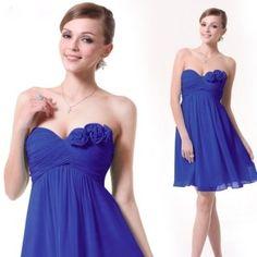 Strapless Dress Formal, Formal Dresses, Cheap Bridesmaid Dresses, Clearance Sale, Wedding Events, Royal Blue, Ruffles, Party Dress, Chiffon