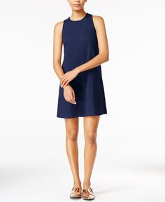 Maison Jules Sleeveless Shift Dress, Only at Macy's