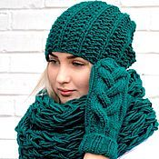 Knitting Patterns Free, Hand Knitting, Knit Crochet, Crochet Hats, Hat And Scarf Sets, Winter Accessories, Mittens, Knitted Hats, Winter Fashion