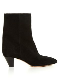 Étoile Dyna cone-heel suede ankle boots | Isabel Marant | MATCHESFASHION.COM