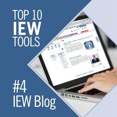 IEW Tool #4: The IEW Blog