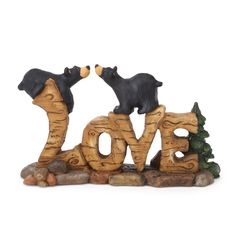 Love Bears Figurine - Let your heart grow And fill with love.