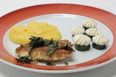Peixe pargo com sálvia e purê de mandioquinha: veja receita de Kátia Tozo