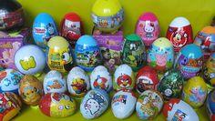 kinder surprise eggs opening Peppa Pig,Masha and Bear,Маша и Медвед ,Kin...
