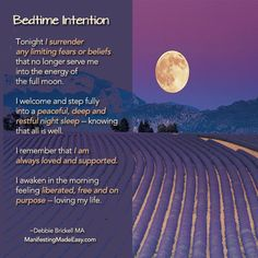 Sleep tight my friends.  Use the energy of the full moon to release what no longer servers you.