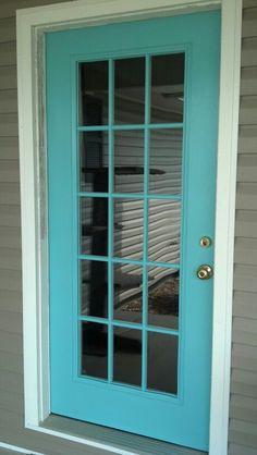 My turquoise door
