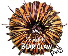 Chocolate Bear Claw Ring Brunch Recipes, Dessert Recipes, Bread Recipes, Desserts, Bear Claws, Danishes, Bread And Pastries, How To Make Bread, Sweet Bread