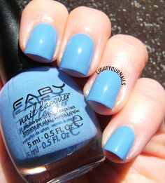 Faby Let's Dance #faby #blue  #lightyournails #manicure #smalto #nailpolish