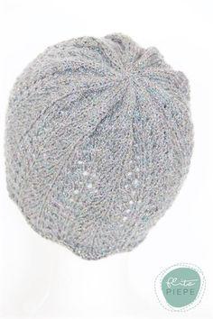 Handgestrickte Mütze mit Glitzer *KU 52-54 Beanie, Etsy, Gloves, Scarves, Breien, Beanies, Beret