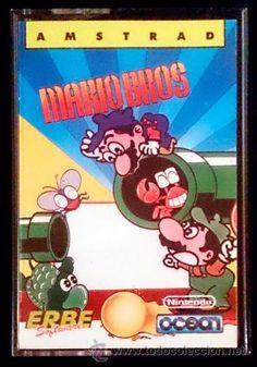 Juego Amstrad CPC Cinta - Mario Bros (1987) Español Erbe
