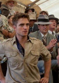 Robert Pattinson in Water for Elephants. Loved him in this!