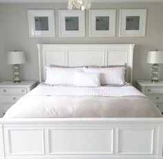 99 modern and elegant white master bedroom decoration ideas - Bedroom Ideas White Furniture