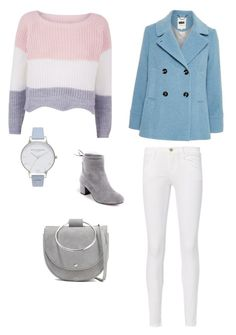 """""""Untitled #190"""" by susannhaabeth on Polyvore featuring Frame, Theory and Olivia Burton"""