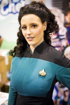 Wondercon 2013 – Star Trek // Deanna Troi (Abby Dark-Star) by Onigun, via Flickr