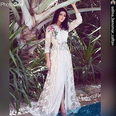 @mariamsaidmbc اللباس من تصميم @selma_benomar_caftan Email : contact@selmabenomar.com Tel ...