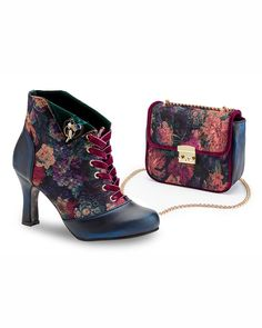 "Joe Browns Couture Limited Edition ""Raven"" Ankle Boots"