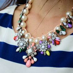 Pearly and flirty! Get this necklace for $15.99 on lightinthebox #necklace