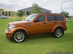 Dodge Nitro - Sunburst Orange Pearl