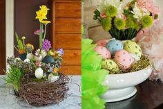 Decoratiuni pentru masa de Paste Paste, Diys, Holidays, Food, Holidays Events, Bricolage, Holiday, Essen, Do It Yourself