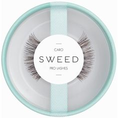 Sweed Lashes Caro (54 BRL) ❤ liked on Polyvore featuring beauty products, makeup, eye makeup, false eyelashes, brown, hygiene and womens-fashion