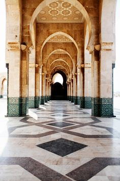 Casablanca, Morocco. This place is pretty high up on my list. Probably going to add it to the Summer 2014 trip list