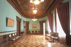 Ancien Hôtel Particulier du Ministre de la Guerre - 4 Rue Sadoya - Saint Petersbourg - Construit de 1872 à 1874 par l'architecte Rudolf Bogdanovich Bernhard - Aujourd'hui Hôtel Saint Michel - Intérieur.